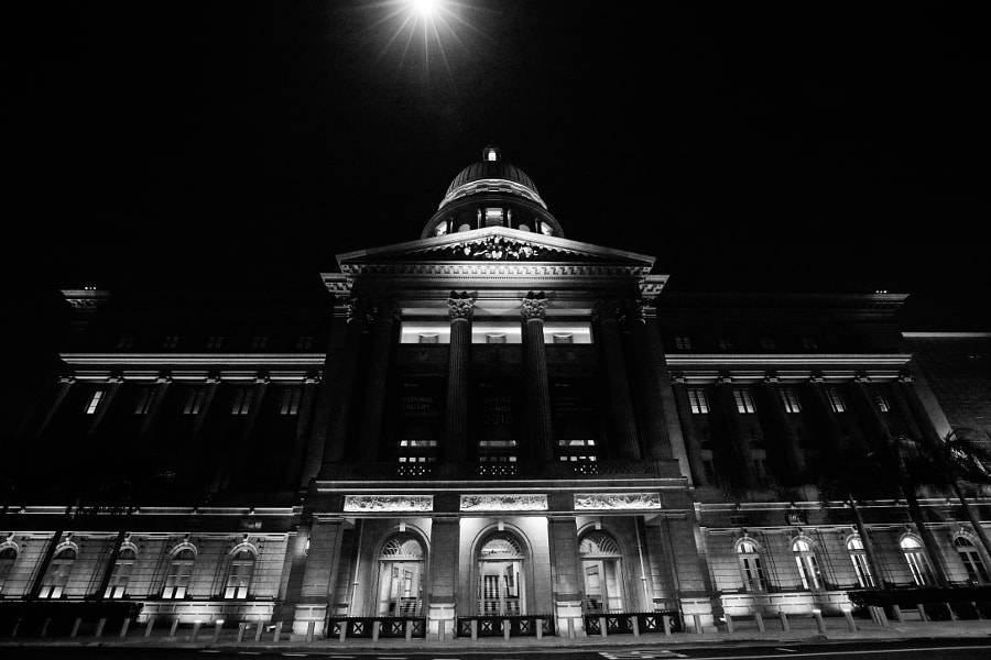 The Former Supreme Court Building in Singapore