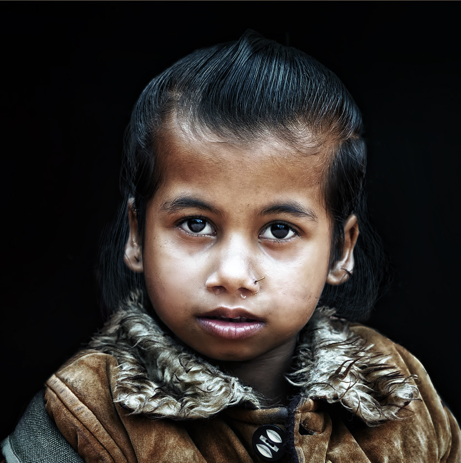Photograph the boy from Nepal by piet flour on 500px