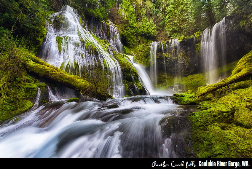 Photograph Panther Creek Falls by Saravana  R on 500px
