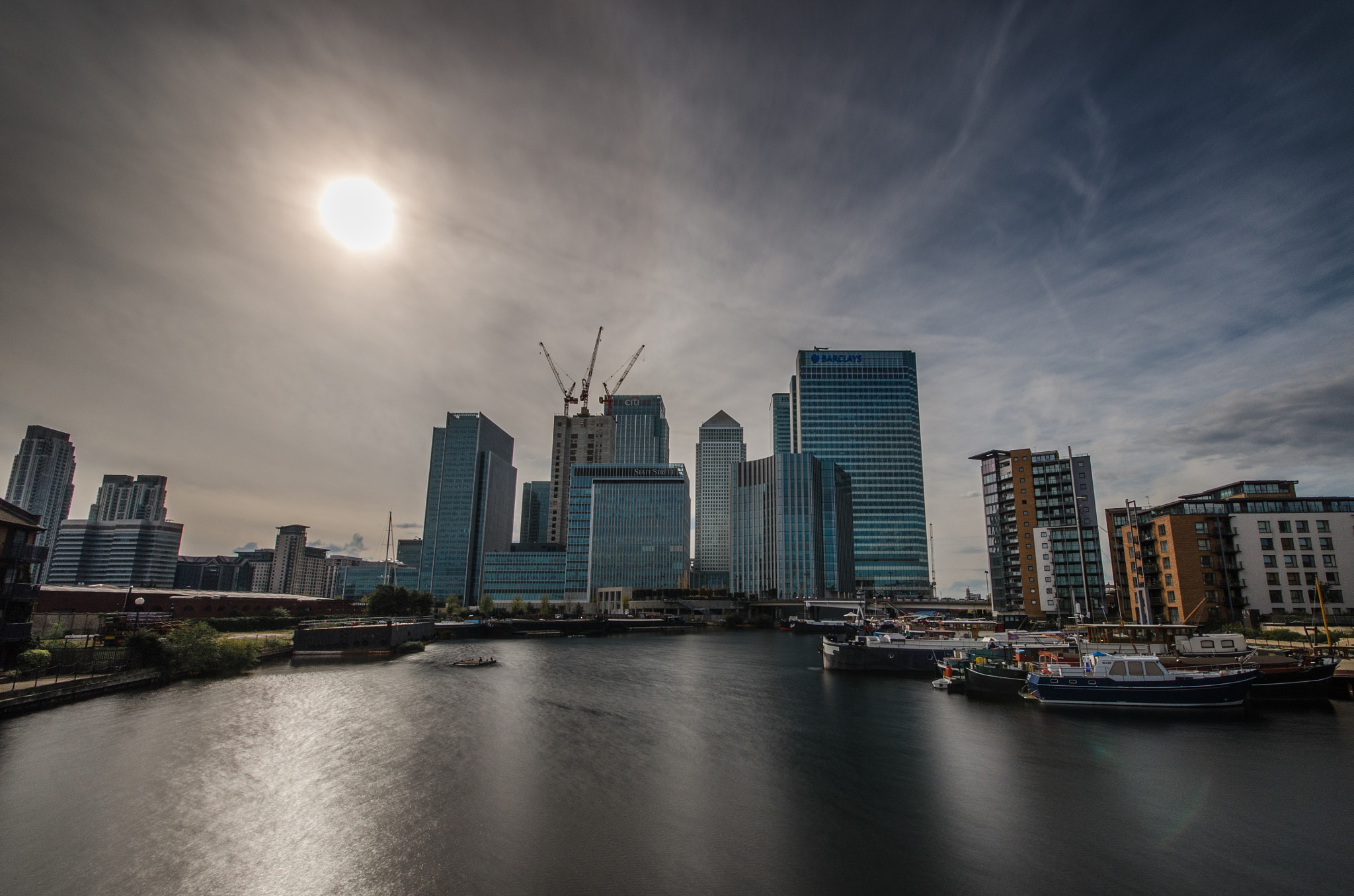 Photograph Canary Wharf II by Rachael Roberts on 500px