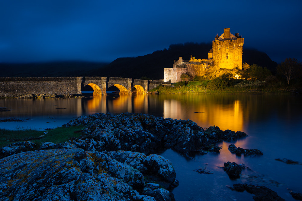 Photograph Eilean Donan Castle @Night III by Thomas Mader on 500px