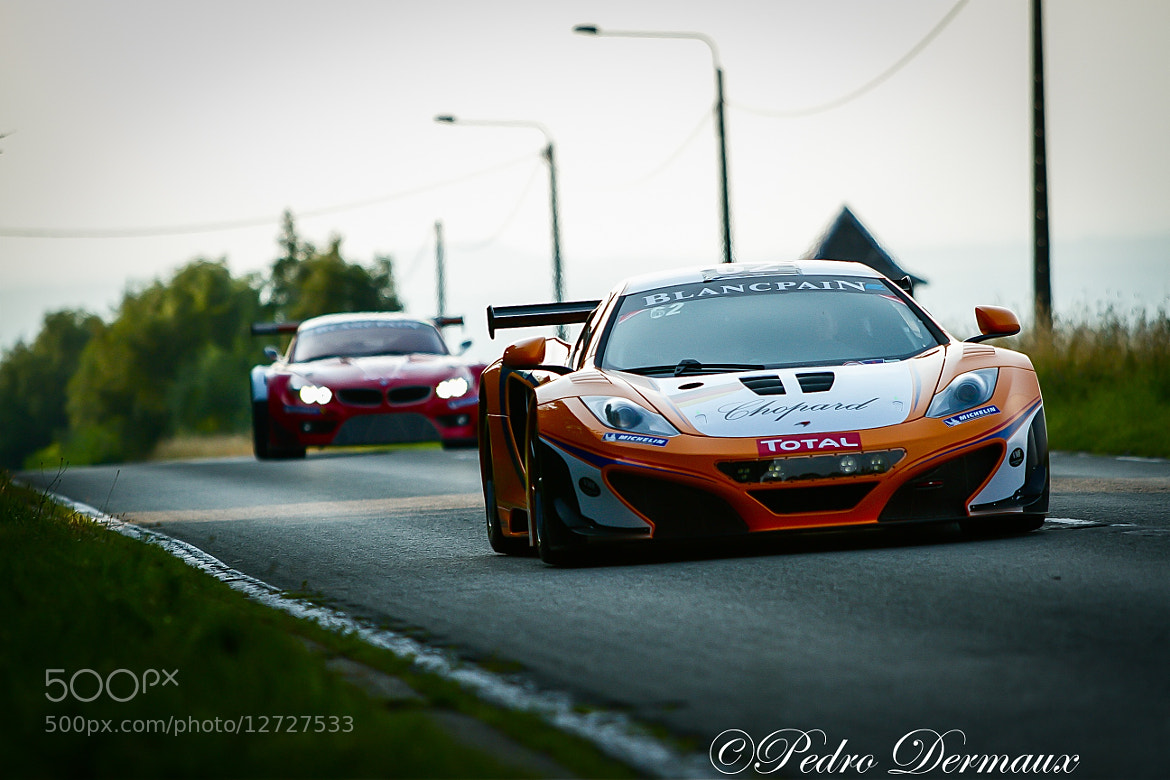 Photograph Mc Laren leaving town by Pedro Dermaux on 500px