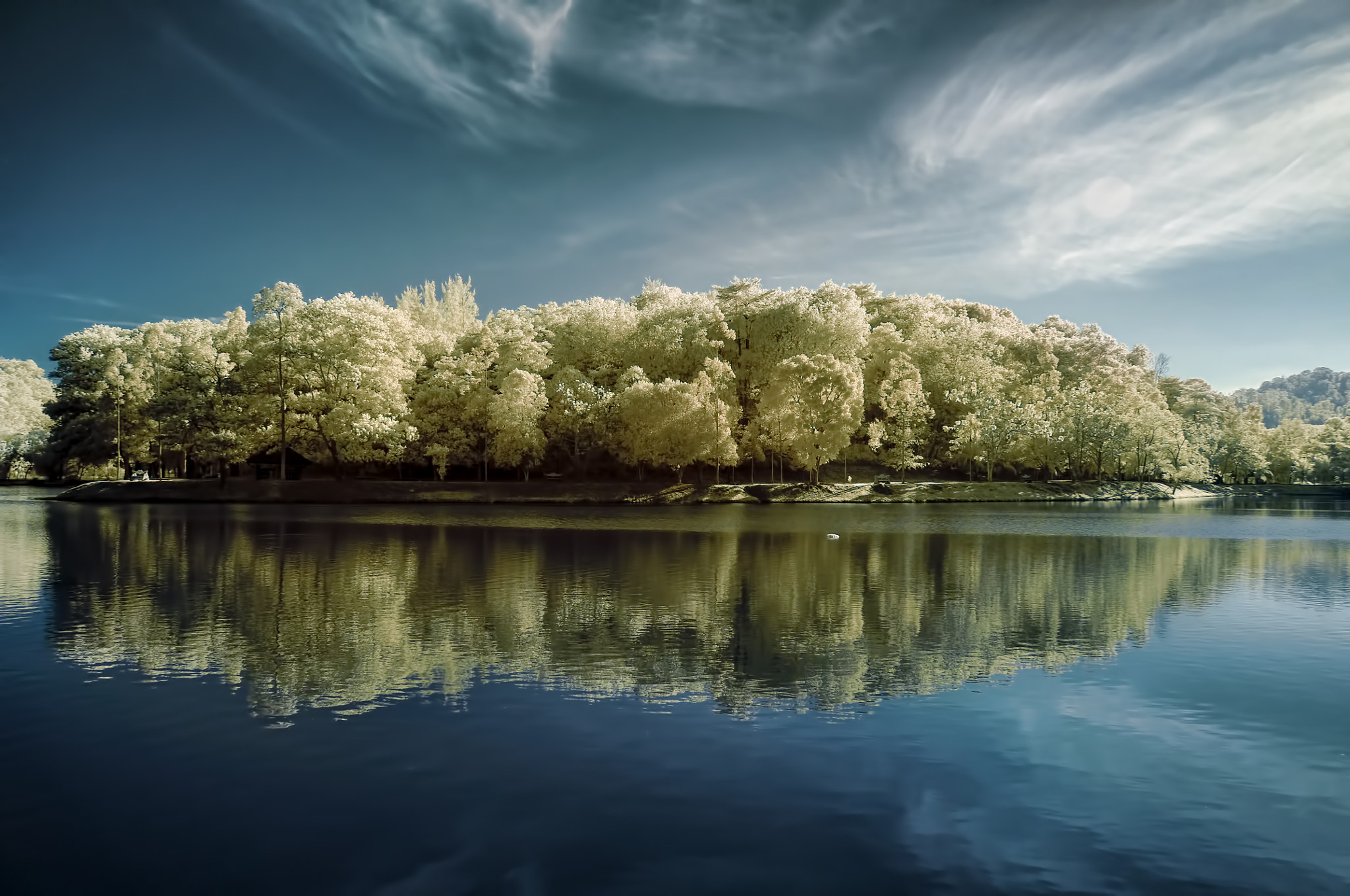 Photograph My Place (HDR Infrared Version) by AbuIrfan Outdoorgraphy on 500px