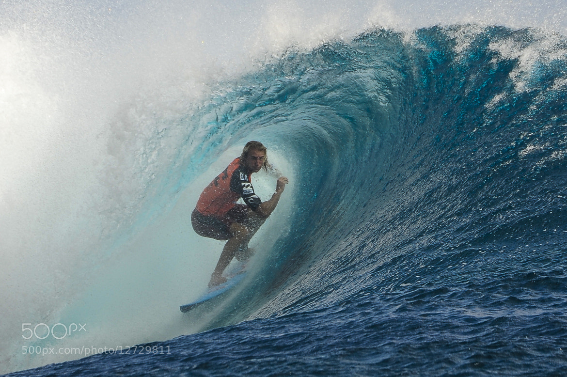 Photograph Owen wright surfing at Teahupoo Billabongpro by Brest Report Stéphane on 500px