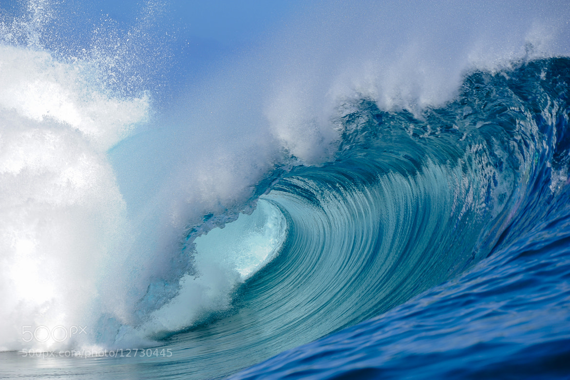 Photograph The perfect wave Teahupoo, tahitian island by Brest Report Stéphane on 500px