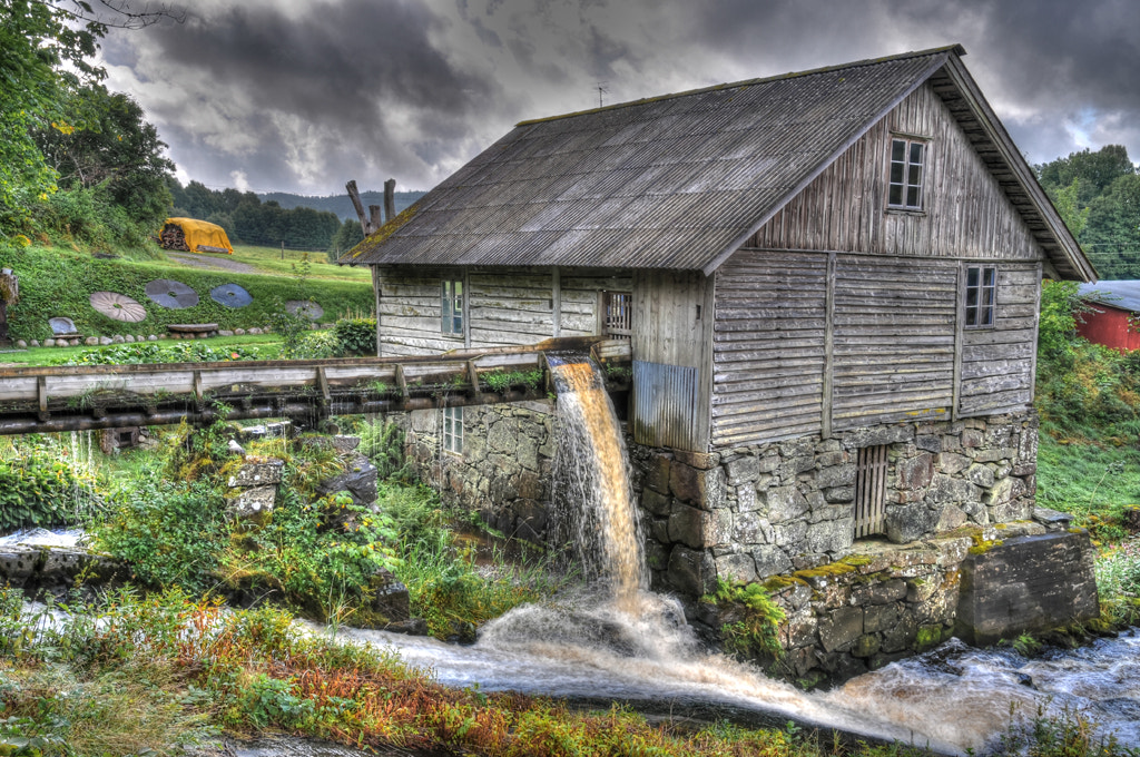 Photograph Martinssons Mill... by Almqvist Photo on 500px