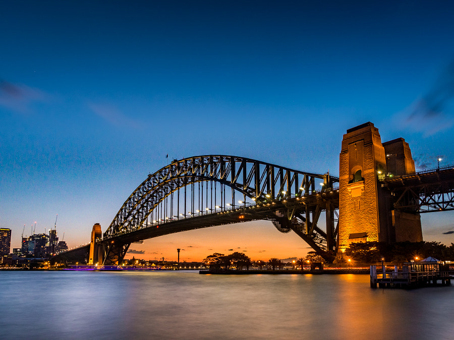 Sydney Harbour Bridge 2015 by Travis Chau on 500px.com