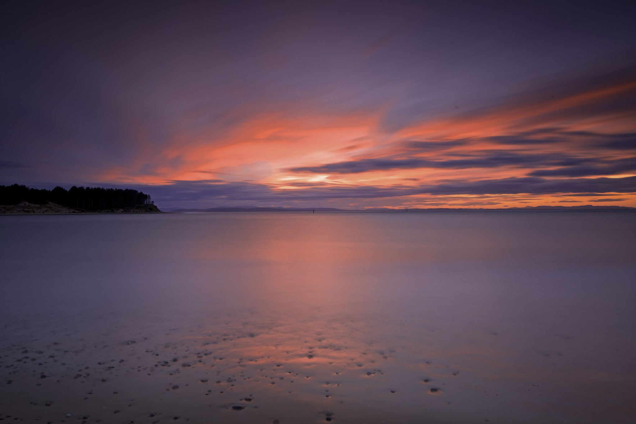 Photograph Findhorn sunset by donald Goldney on 500px