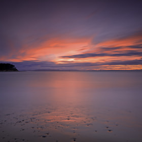 Findhorn sunset by donald Goldney (DonGoldney)) on 500px.com