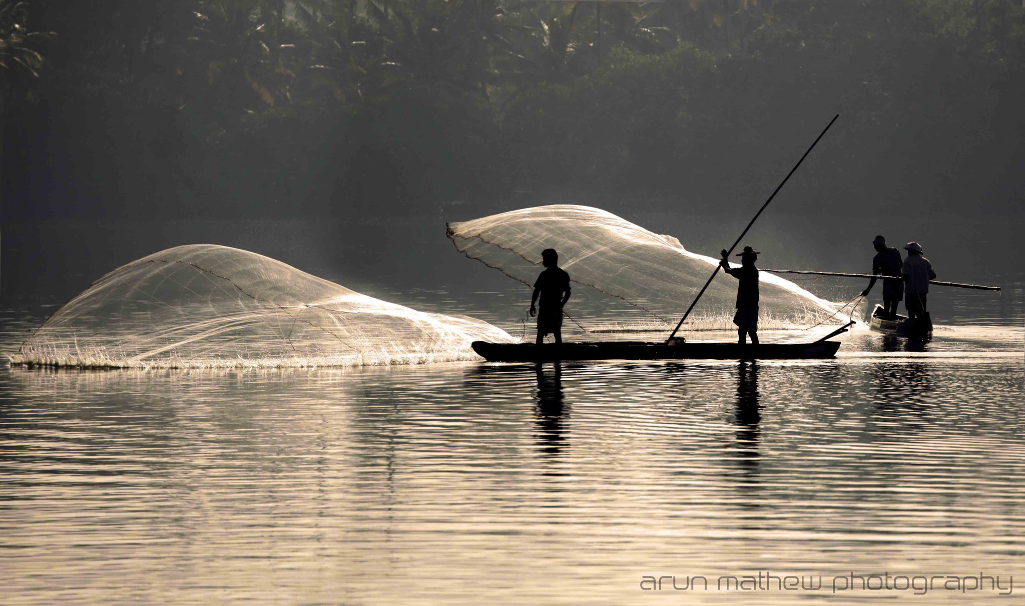 Photograph Fishermen by Arun Mathew on 500px