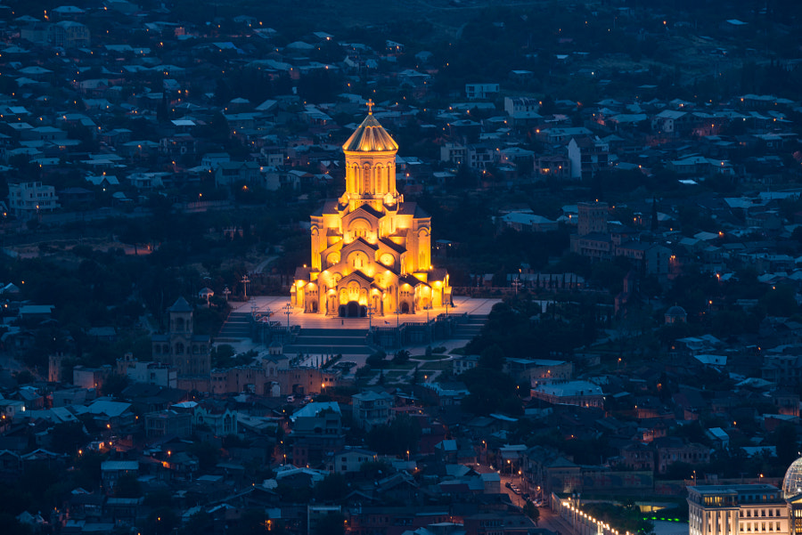 The Holy Trinity Cathedral of Tbilisi by Nutthavood Punpeng on 500px.com