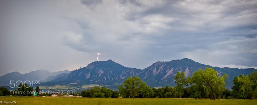 Lightning Above The Flatirons