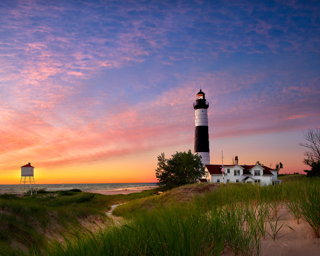 Photograph Big Sable Lighthouse At Twilight by Steve Perry on 500px