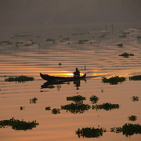 Country fishing boat. by Satheesh Nair (ifotoman)) on 500px.com