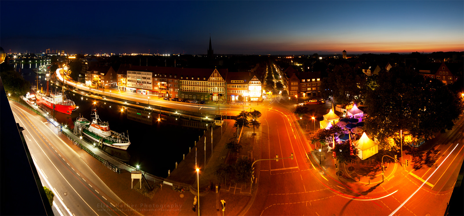 Photograph Emden at Night by Elias Näther on 500px