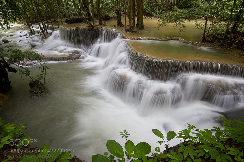 Photograph Huay Mae Kamin Waterfall by Nara Postcardonline on 500px