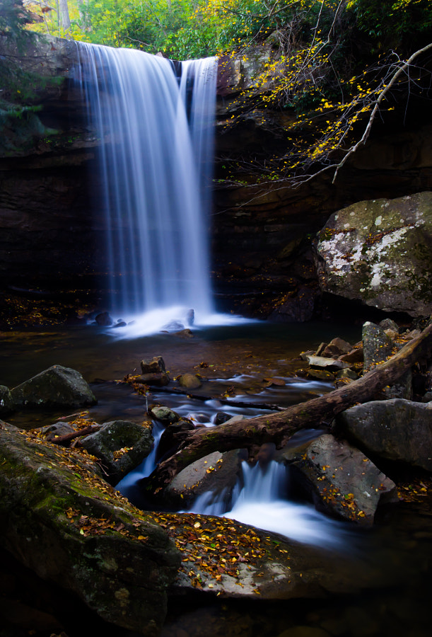 Cucumber Fall, Ohiopyle by Rachata Ausavarungnirun on 500px.com