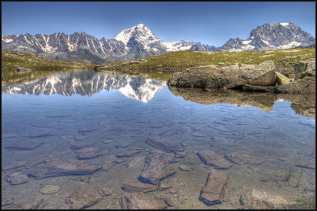 Photograph Grand Combin and Mont Velan by Paul Sirugo on 500px