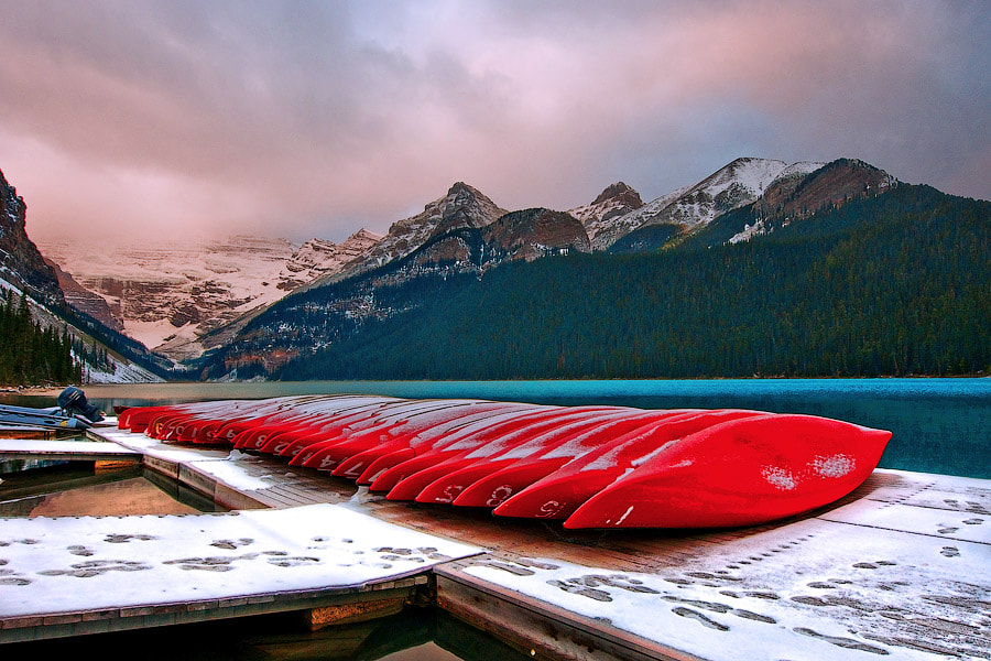 Photograph Lake Louise. Canada by Sten 910 on 500px