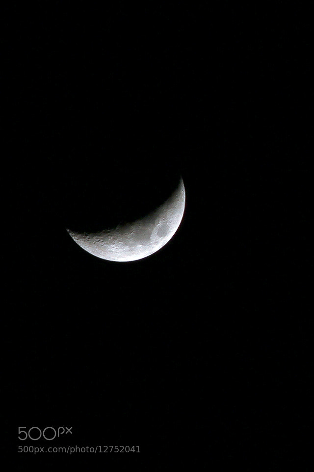 Photograph Moon by Michael Savellano on 500px