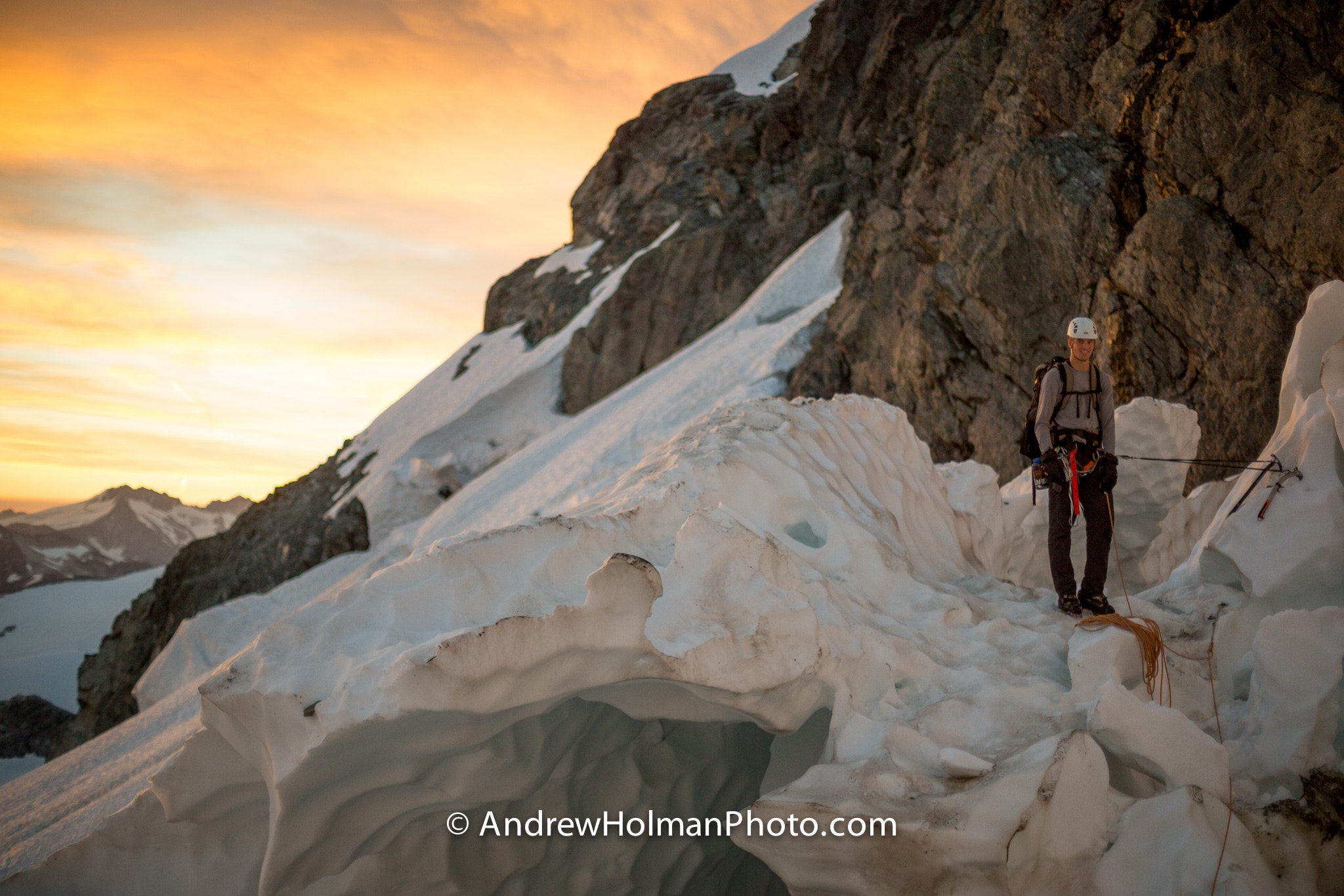 Photograph Crevasse Belay on Mt Shuksan by Andrew Holman on 500px