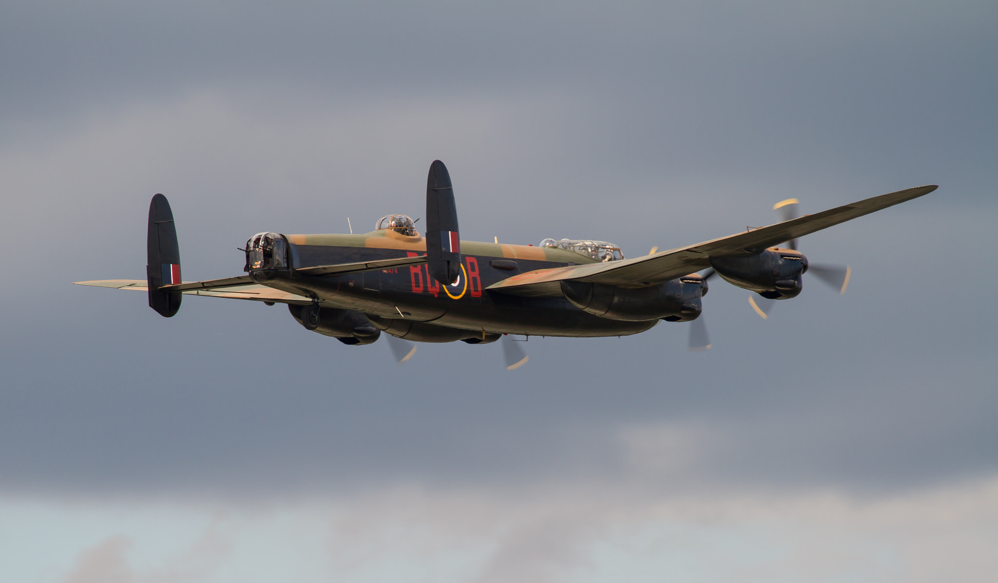 Photograph Avro Lancaster by Andrew Wickens on 500px