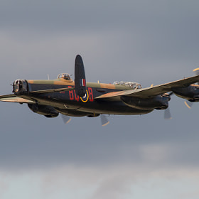 Avro Lancaster by Andrew Wickens (Arwphotography)) on 500px.com