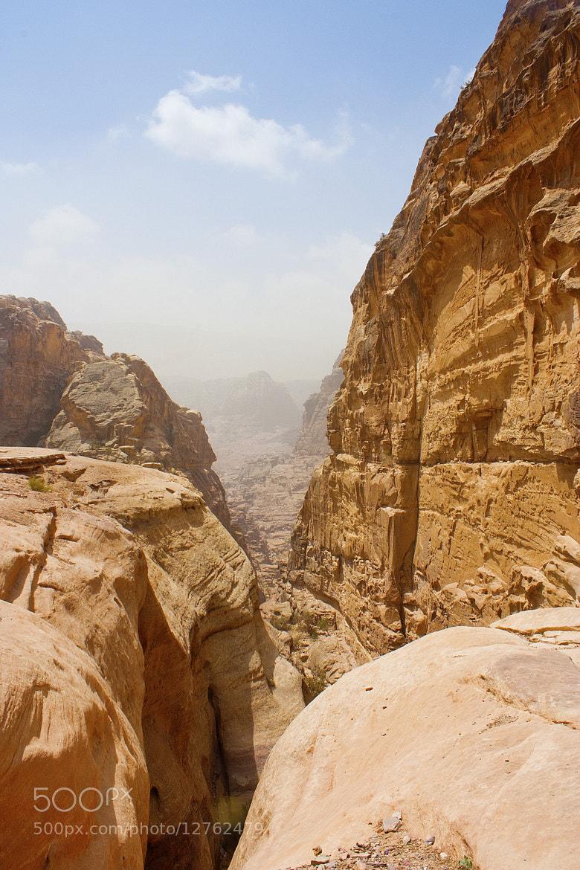 Photograph Petra Canyon by Zaid Saadallah on 500px