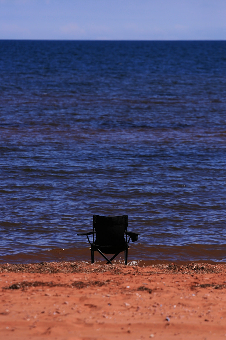 Photograph The Chair and the Sea by Yves Grenier on 500px