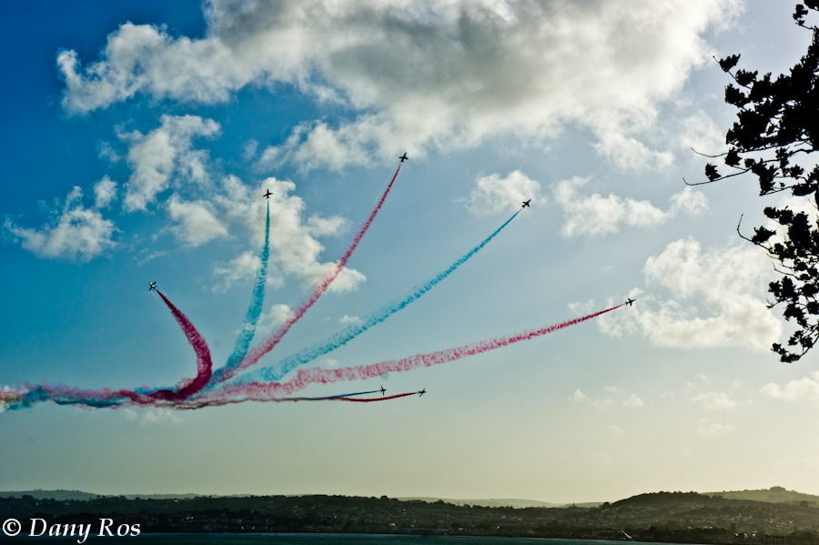 Photograph Red Arrows 2012, Torquay by Dany Ros on 500px
