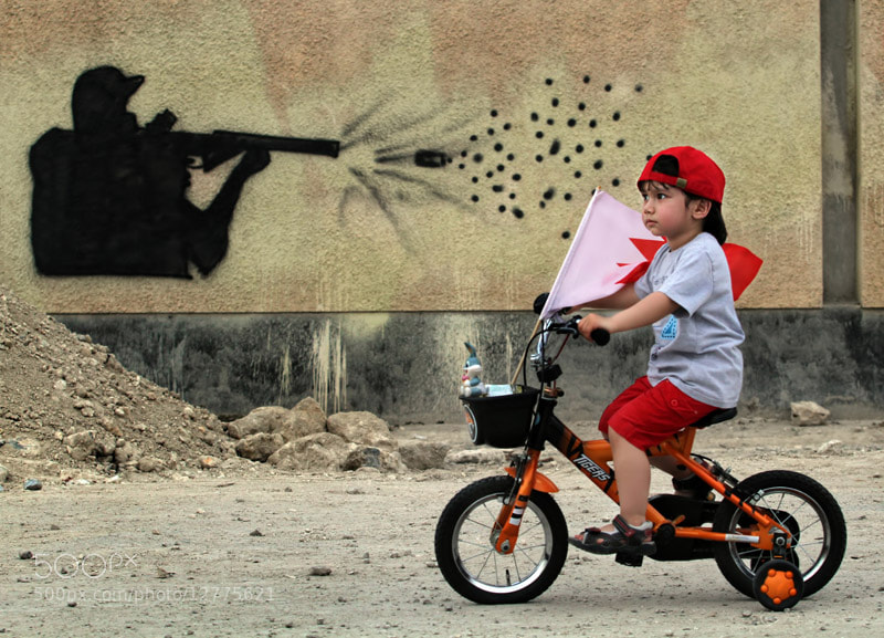 Photograph Assassination of childhood by Isa Ebrahim on 500px