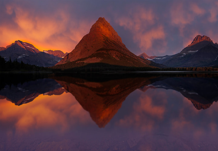 Photograph SwiftCurrent Lake - Glacier National Park by Kevin McNeal on 500px