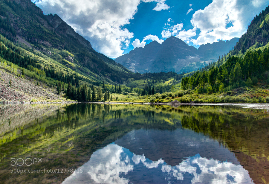 Photograph Maroon Bells II by Zach Becker on 500px