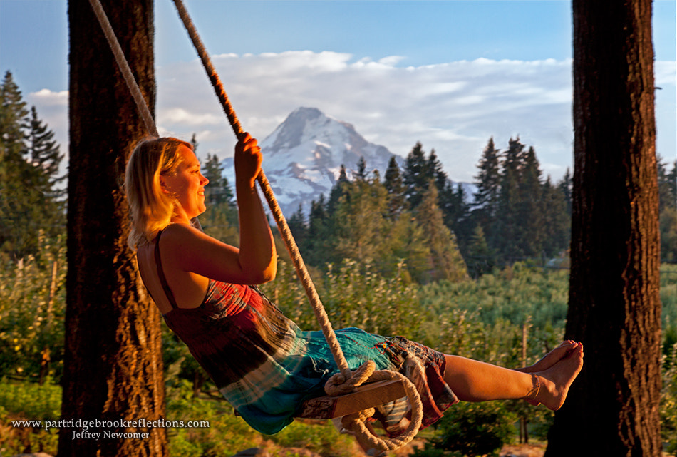 Photograph Mount Hood Swing by Jeffrey Newcomer on 500px