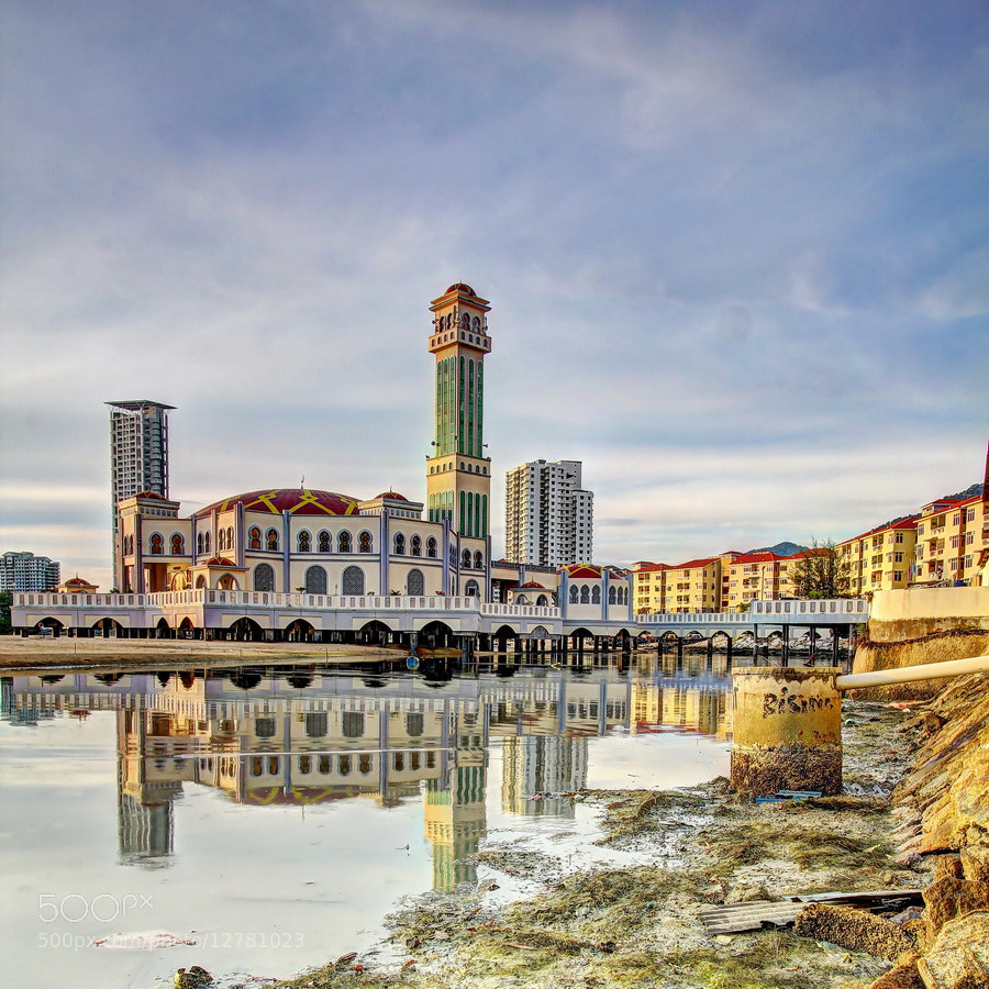 Photograph Floating Mosque 01 by Danny Tan on 500px