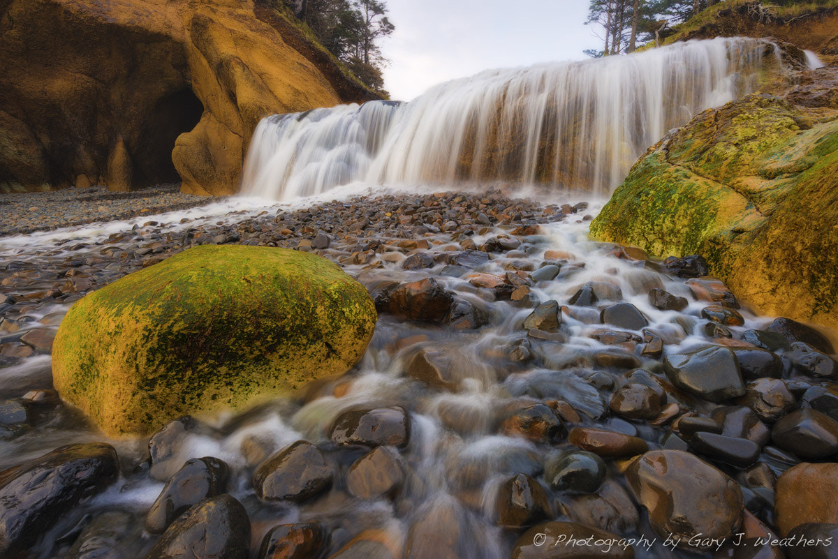 Photograph Falls at Hug Point by Gary Weathers on 500px