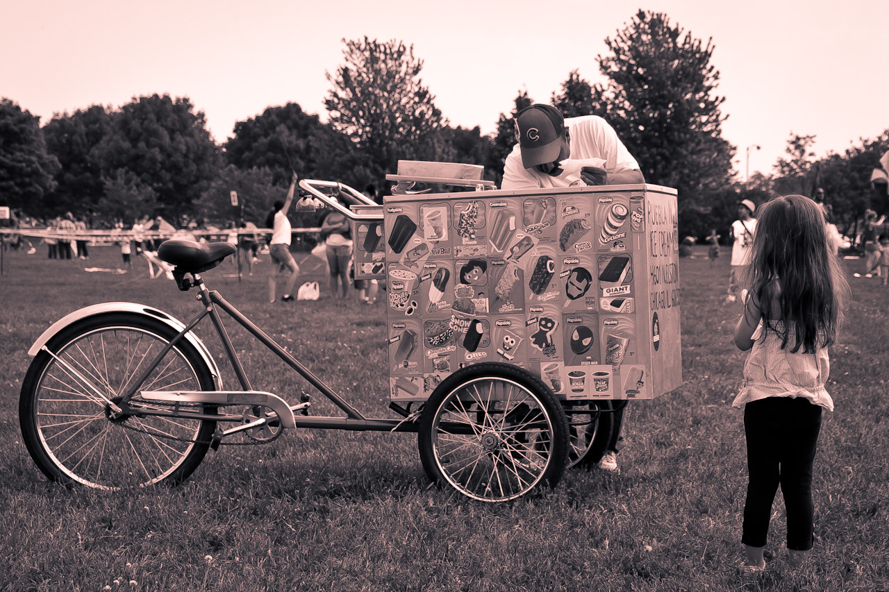 Photograph Ice Cream Man by Brian Buckler on 500px