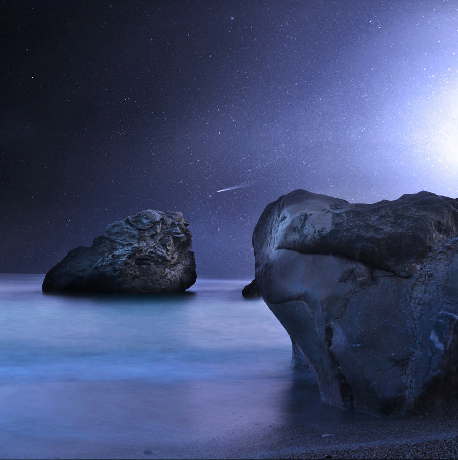 Photograph Falling Star by George Christakis on 500px