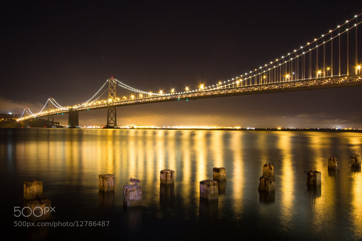 Photograph Bay Bridge from near the Ferry Building by Rebecca S on 500px