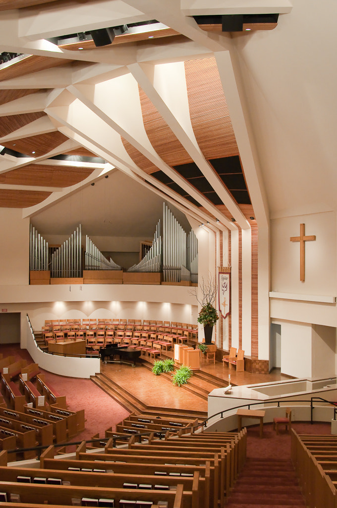 Photograph First Baptist Church Sanctuary by Drew Sumrell on 500px