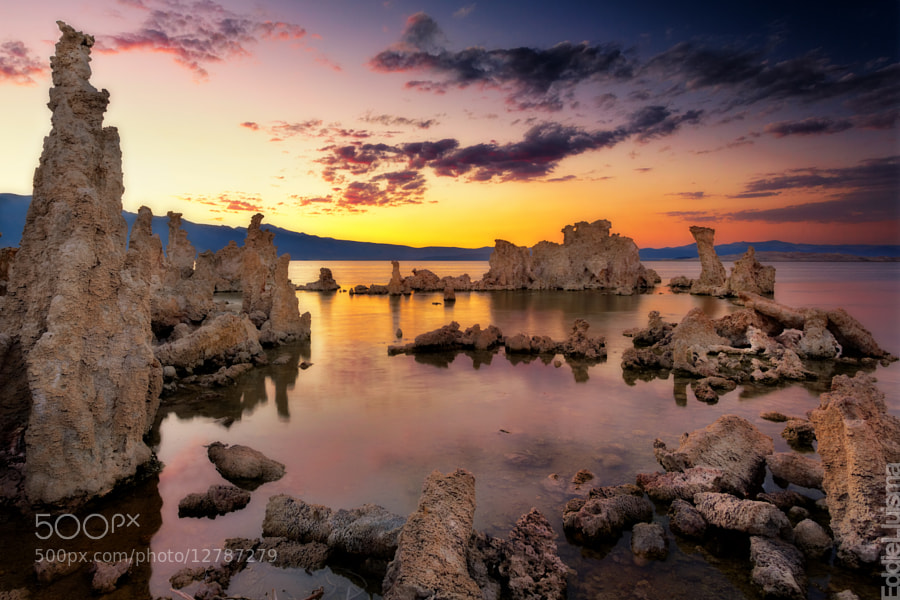 Photograph Mono Lake Sunset by Eddie Lluisma on 500px