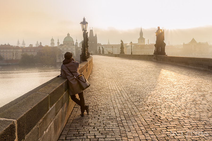 A Girl and The City by Jan Stria on 500px.com