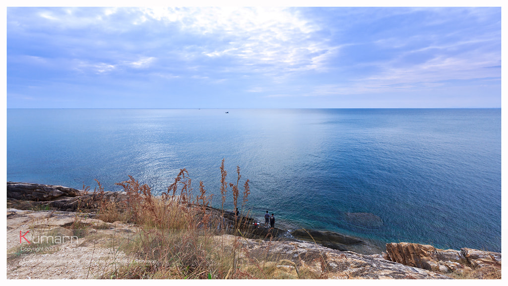 Photograph Blue Sea by Suwit Gamolglang on 500px