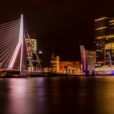 The Bright Lights of the Erasmus Brug