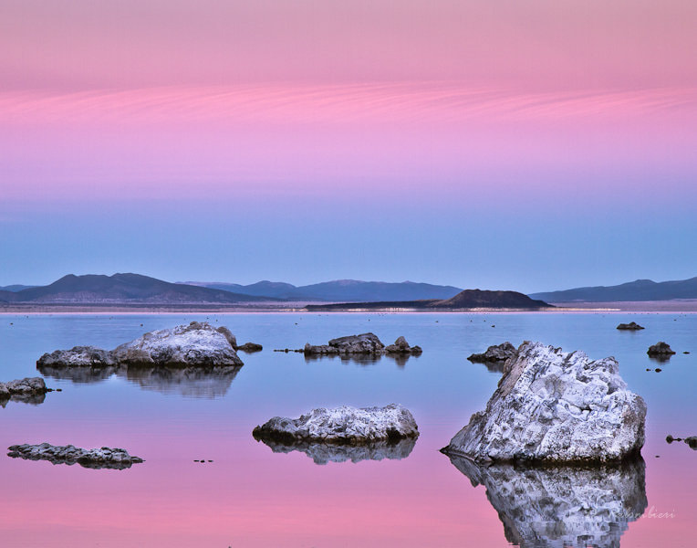 Photograph Mono Lake 'pink' Sunset - CA by Dominique  Palombieri on 500px