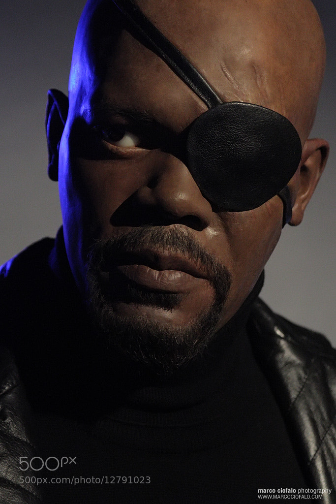 Photograph Madame Tussauds Nick Fury The Avengers by Marco Ciofalo Digispace on 500px