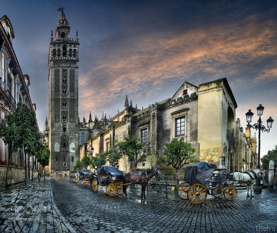 The Giralda Tower and Cathedral (Sevilla, Spain) by Domingo Leiva (dleiva)) on 500px.com