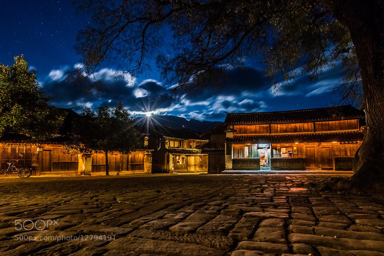 Photograph Shaxi Moonrise by Yereth Jansen on 500px