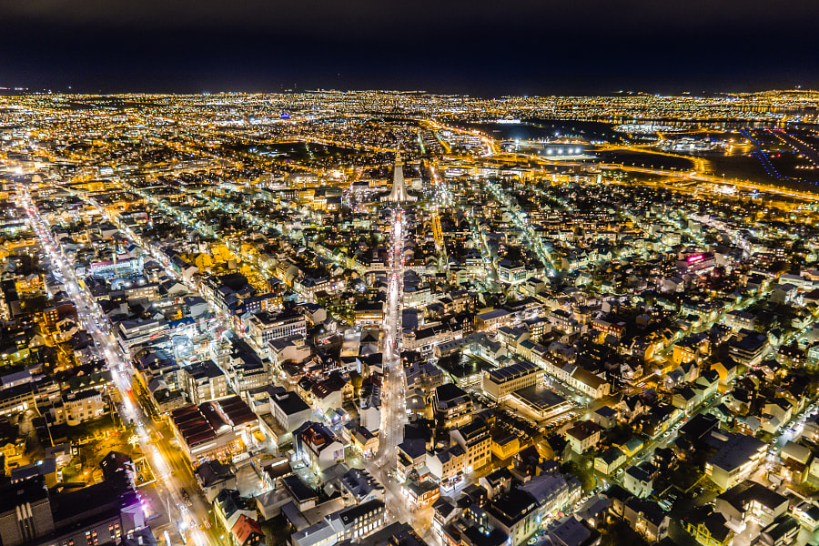 Reykjavik @ Night by OZZO Photography on 500px.com