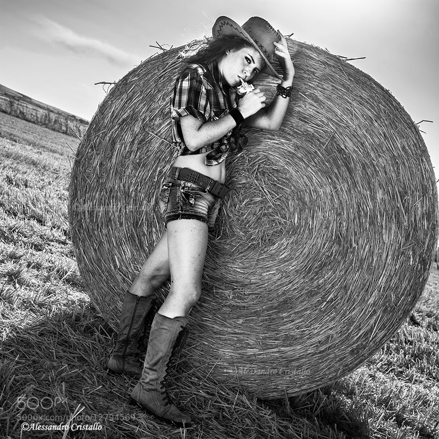 Photograph Smokin hot cowgirl by Alessandro Cristallo on 500px